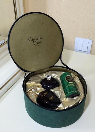 Духи винтажные christian dior poison,  набор