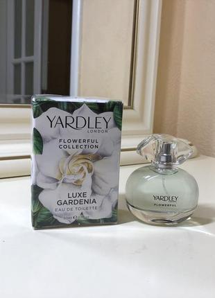 Yardley luxe gardenia flowerful, тв 50 мл