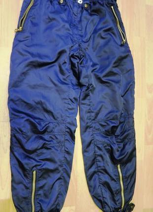 Лыжные штаны утепленные
