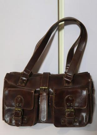 Удобная сумка с короткими ручками