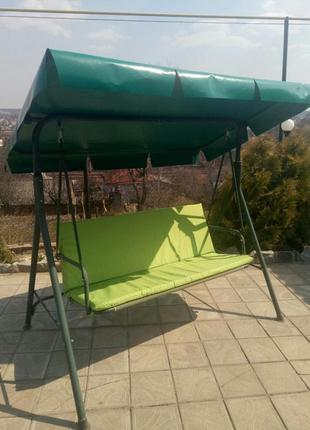 Тент, крыша для садовой качели