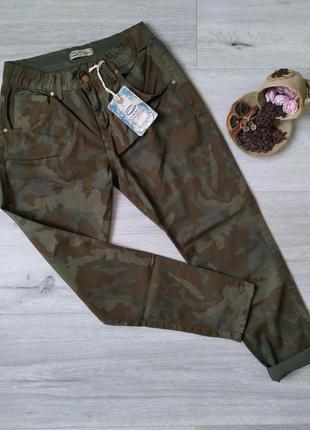 Камуфляжные штаны женские брюки everis
