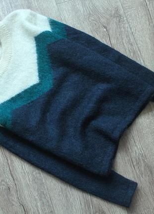 Шикарный махеровый шерстяной свитер от jack wills