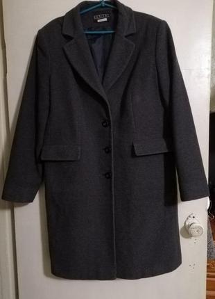 Демисезонное пальто barisal шерсть + кашемир