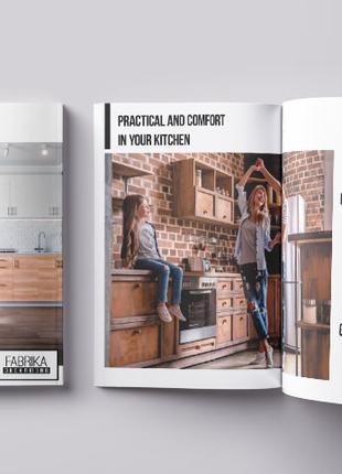Дизайн полиграфии (визитка, листовка, каталог, буклет и др)