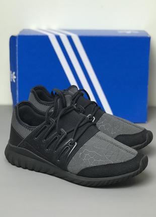 Жіночі кросівки adidas tubular radial black оригінал