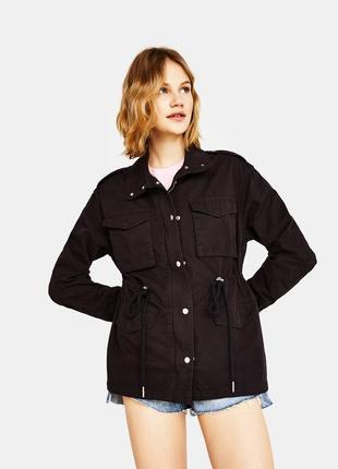 Куртка в стилі сафарі bershka