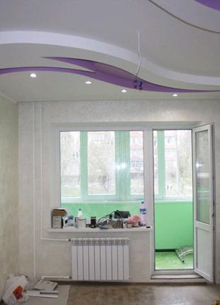 Ремонт квартир домов обои, шпатлевка, покраска, ламинат, линолеум