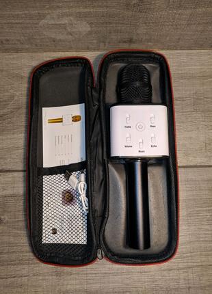 Беспроводной микрофон караоке Q7