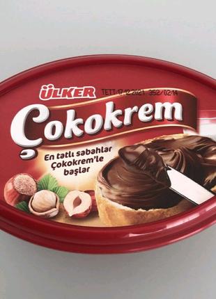 """Шоколадно-ореховая паста Ulker """"Cokokrem""""  400 грамм"""