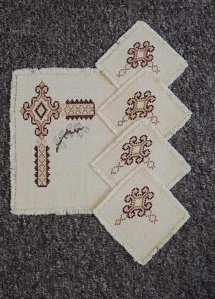 *Handmade*Пасхальные салфетки (комплект)