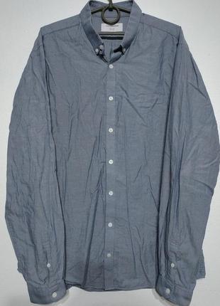 L xl 50 52 сост нов lindbergh рубашка мужская голубая сиренева...