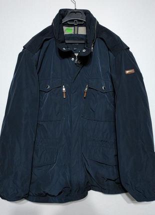 Xl xxl 52 54 hacket англия куртка мужская синяя весна осень zxc