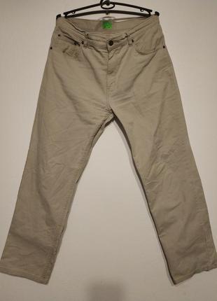 W32 w31 l31 сост нов wrangler джинсы мужские бежевые весна лет...