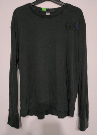 L xl 50 52 g-star raw свитшот лонгслив свитер кофта реглан вес...