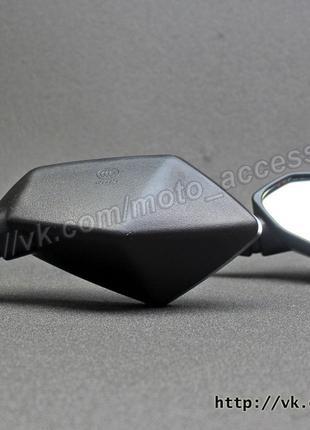 Мото зеркала на спорт (ромбовидные) на мотоцикл универсальные