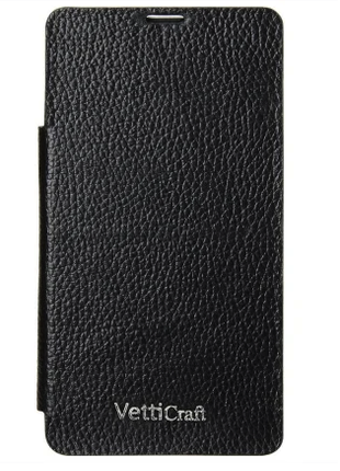 Чехол-книжка Vetti Craft Sony Xperia Z1 mini Hori Cover black