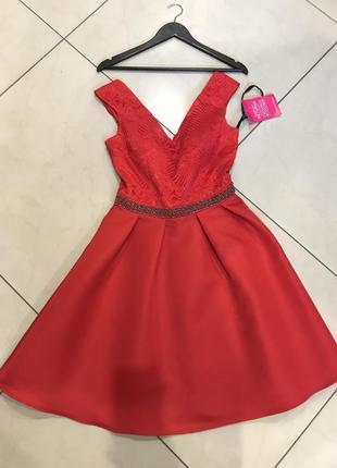 👑♥️final sale 2019 ♥️👑   платье мили красное жаккардовое