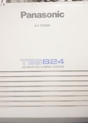 АТС Panasonic KX-TES824 офисная аналоговая