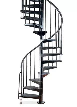 Лестница винтовая металлическая, новая