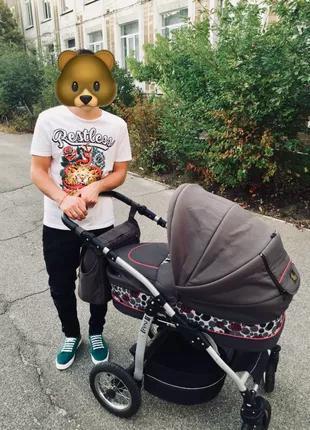 Детская коляска Jedo Fyn 2 в 1