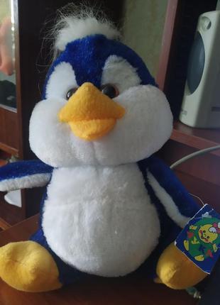 Игрушка для детей мягкая пингвин