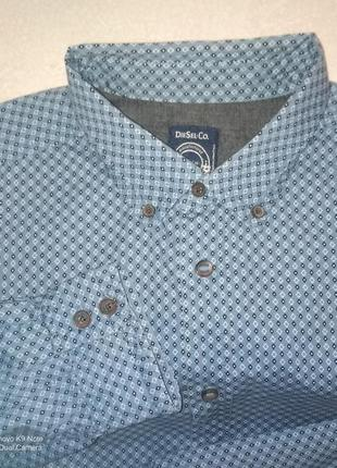 Рубашка мужская с длинным рукавом diesel slim-fit