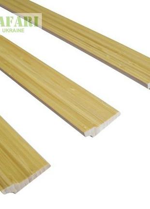 Плинтус бамбуковый натуральный