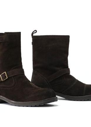 Распродажа! замшевые ботинки belstaff oil resistant