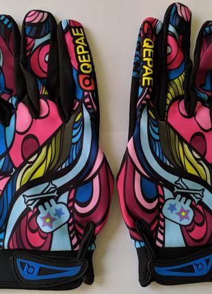 Перчатки Qepae (Вело / Мото / Спорт / Экстрим)