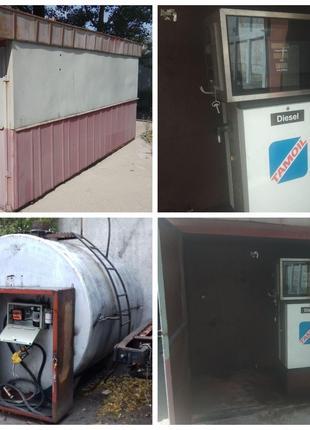 АЗС мини, заправка, топливная станция, АЗС колонки