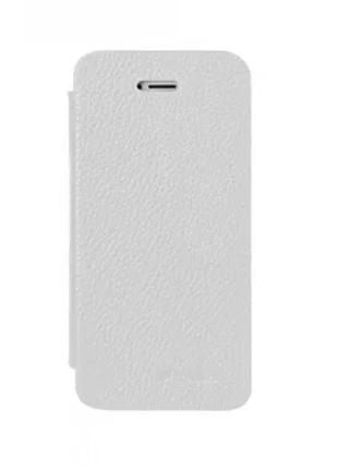 Чехол-книжка Vetti Craft iPhone 5C Hori Cover white