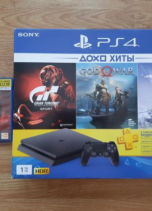 Sony PlayStation 4 Slim PS4 1TB + Tekken 7