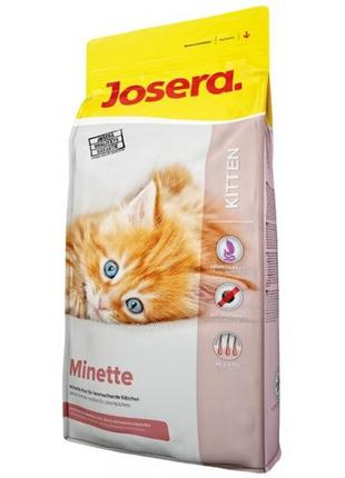 Josera Minette сухой корм для котят, кормящих и беременных кош...