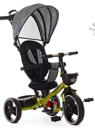 Детский велосипед turbo trike с поворотным сиденьем.