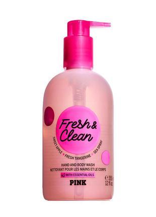 🧼парфумированный гель мыло для рук и тела 🚿🧽fresh and clean 💕v...