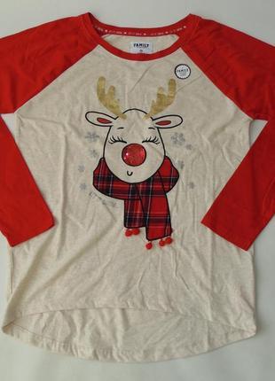 Пижамный свитер primark love to lounge англия хс, 6-8 р