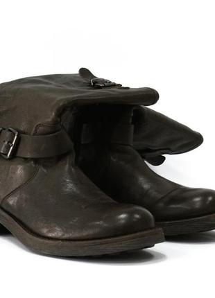 Расподажа! кожаные сапоги / ботинки p.a.r.o.s.h. / parosh