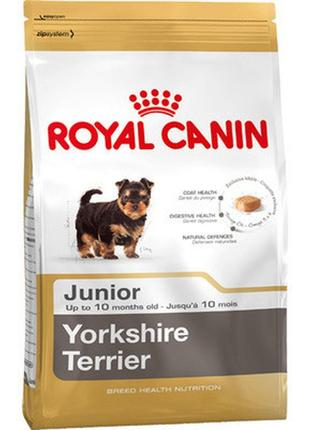 Сухой корм для собак Royal Canin Yorkshire Terrier Junior 1,5 кг