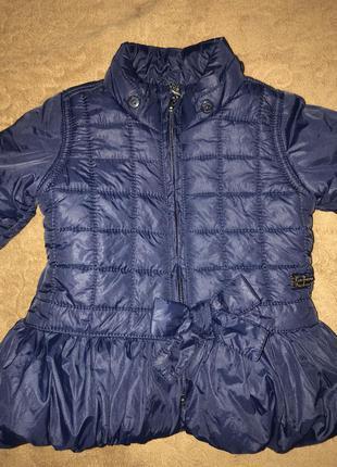 Красивая курточка на малышку