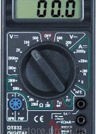 Мультиметр DT- 832 цифровой