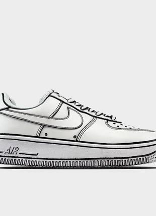 Nike air force 1 cartoon