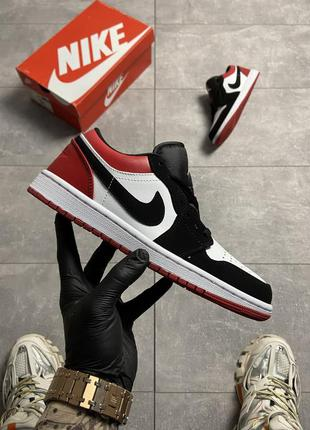 Nike air jordan 1 low red white