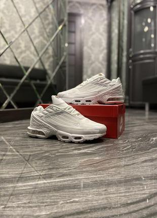 Nike air max plus 3 white