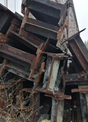 Двутавровая Б/У стальная балка № 45, длина 6м