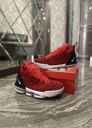 Nike lebron 15 red white