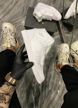 Nike air jordan 1 retro white