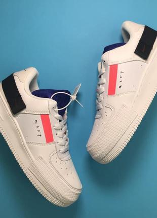 Nike air force 1 white red orbit