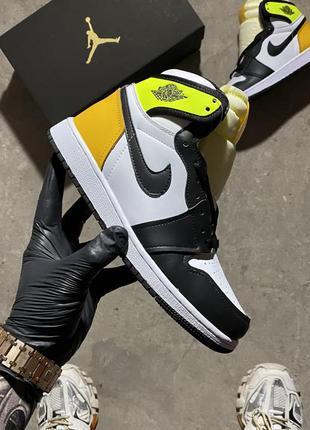 """Nike air jordan 1 high og """"volt gold"""""""