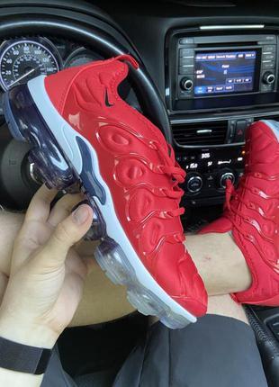 Nike vapormax tn plus red white